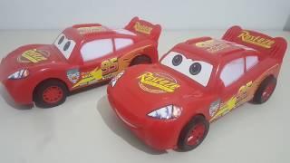 Carros 3 - O Filme - Cars 3 da DISNEY ( MATE e MCQUEEN ) Luz e Som.