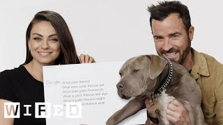 Mila Kunis & Justin Theroux Answer the Web