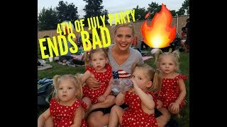 4TH OF JULY PARTY ENDS IN FIRE