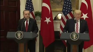 Trump Humiliates Himself in Front of Turkish President