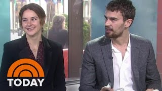Shailene Woodley, Theo James On 'Insurgent' Stunts | TODAY