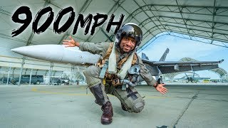What It Feels Like Flying at 900 MPH!