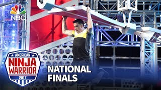 Sean Bryan at the Las Vegas National Finals: Stage 2 - American Ninja Warrior 2017