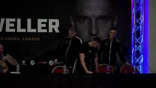 KSI VS JOE WELLER FULL PRESS CONFERENCE & WEIGH-IN