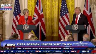 FULL: President Trump & British Prime Minister Theresa May Press Conference