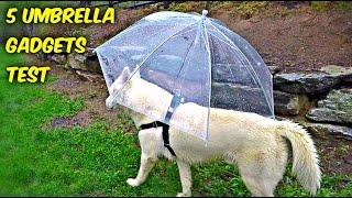 5 Umbrella Gadgets put to the Test