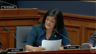 Rep. Jayapal Questions Attorney General Jeff Sessions