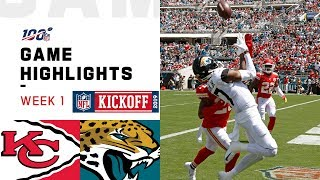 Chiefs vs. Jaguars Week 1 Highlights   NFL 2019