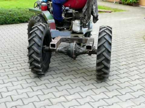 Трактор из нивы своими руками