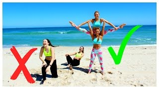 EXTREME YOGA Challenge TWINS Vs Sisters!
