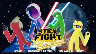 THE LAST JEDI!! - Stick Fight Funny Moments