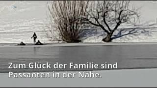 Zwei Menschen brechen in Münchner Olympiasee ein