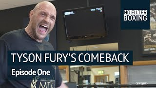 """""""This is what films are made of!"""" #NoFilterBoxing follows Tyson Fury"""