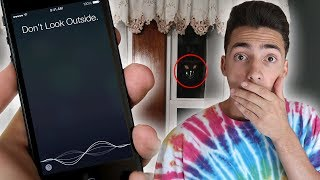 DO NOT TALK TO SIRI AT 3AM! 3 AM FIDGET SPINNER CHALLENGE GONE WRONG!