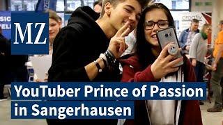 YouTube-Star Prince of Passion auf Berufs- und Ausbildungsmesse in Sangerhausen