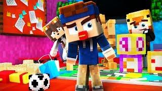 BABYS IM KINDERGARTEN! | Minecraft Hide and Seek