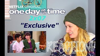 "One Day At A Time 2x07 ""Exclusive"" Reaction!"