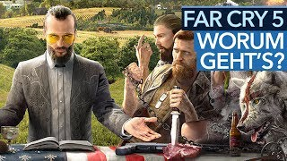 Far Cry 5 - Koop-Cops gegen Amerikas Religions-Fanatiker?