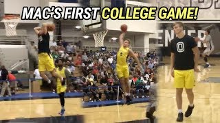 Mac McClung GOES OFF In First College Scrimmage! Throws Down Insane WINDMILL 😱