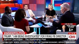 "TRUMP TWEETS   ""I Am Being Investigated"" FIRING COMEY (CNN)"