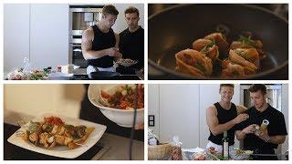 TIM & ICH ALS KÖCHE | gesundes Essen | inscopelifestyle