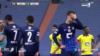 ملخص مباراة الهلال و النصر0-2   في نصف نهائي  كأس ولي العهد 26\12\2016