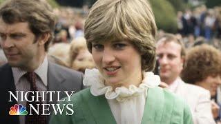 Princess Diana's Dresses On Display At Kensington Palace | NBC Nightly News