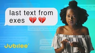 People Read The Last Texts From Their Exes