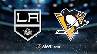 Penguins top Kings, 3-1, for 10th straight home win
