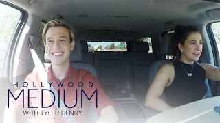 Tyler Henry Has Accident Walking Through Parking Lot | Hollywood Medium with Tyler Henry | E!
