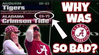 Remember When Alabama SUCKED At Football?