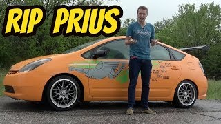 I Gave My Prius Nitrous, and The Engine EXPLODED! Fast and Furious Fail