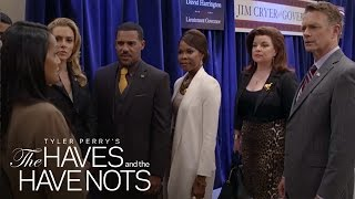 The DA Brings Down the Cryers and the Harringtons | Tyler Perry's The Haves and the Have Nots | OWN