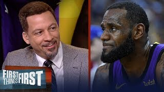 Chris Broussard reacts to Lakers route of Warriors, LeBron