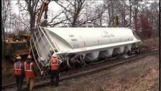 Grand Elk railroad rerailing cars