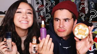 GUESSING MAKEUP PRICES CHALLENGE w/ KIAN LAWLEY !!