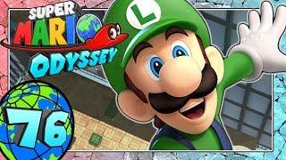 SUPER MARIO ODYSSEY Part 76: Luigi im Cityland