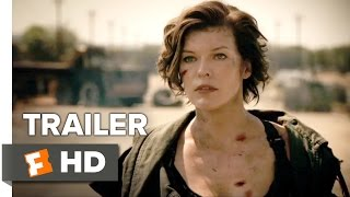 Resident Evil: The Final Chapter Official Trailer 1 (2017) - Milla Jovovich Movie