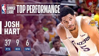 Josh Hart Drops 37 POINTS In The Semifinals | 2018 MGM Resorts Summer League