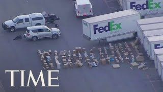 Second Bomb Found At Texas FedEx Facility: Here