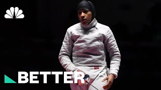 Ibtihaj Muhammad Defied Cultural Norms To Compete In The Olympics | Better | NBC News