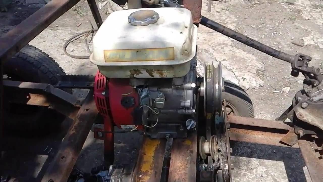 Трактор с двигателем лифан своими руками