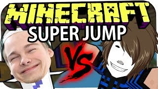 MINECRAFT: SUPER JUMP - LetsTaddl VS. GermanLetsPlay! ☆ Let