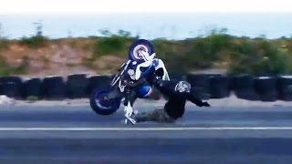 Hectic Road Bike Crashes & Motorcycle Mishaps 2017 [Ep.#16]