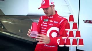 Kids Drive NASCAR: Challenge Kyle Larson at cup stacking
