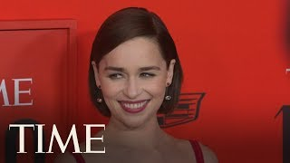 Game of Thrones' Stars Emilia Clarke & Richard Madden Reunite On The Red Carpet | TIME 100 | TIME