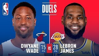 Historic Final Duel in LA: LeBron vs Wade | December 10, 2018