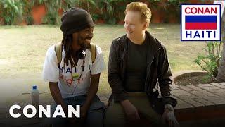 Conan's Haitian History Lesson  - CONAN on TBS