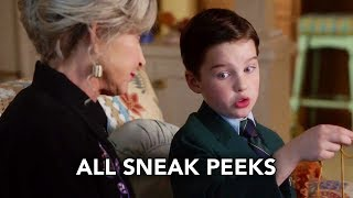 """Young Sheldon 1x10 All Sneak Peeks """"An Eagle Feather, a String Bean, and an Eskimo"""" (HD)"""