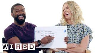 Charlize Theron & David Oyelowo Answer the Web
